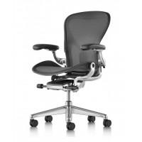 AERON Work Chair Polished Aluminium B Size